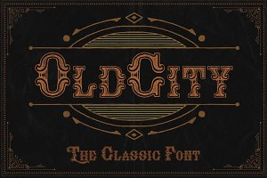 OldCity Classic font