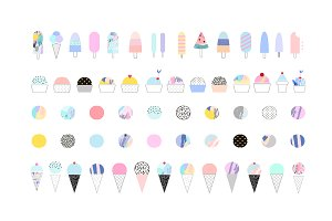 ICE CREAM raster version