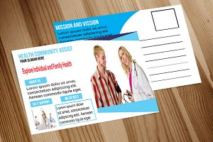 Medical Health Services Postcard