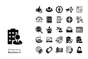 Business II vector icons