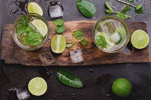 Lime-Mint Lemonade