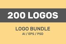 200 Vector Logo Design Templates