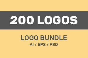 200 Vector Logo Design Templates