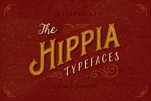 The Hippia Typefaces - 3 Font
