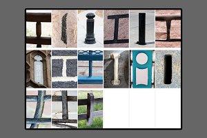 Alphabet Photography Letter I
