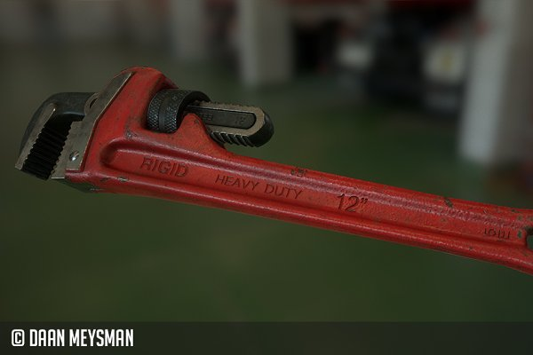 3D Objects - Pipe wrench