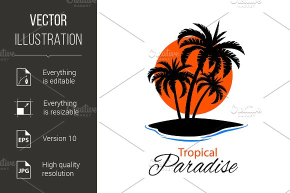 Tropical Island - Graphics