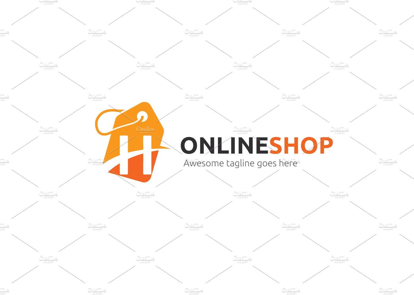 Online Shop Letter H Logo Logo Templates Creative Market