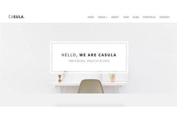 Casula - Responsive HTML Template