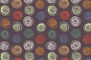 Seamless coloful abstract pattern