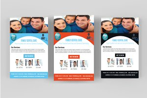 Dentist Flyer Template V-01