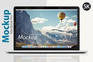 MacBook Pro Front Mockup