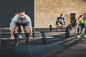Lifting weights improves strength and focus