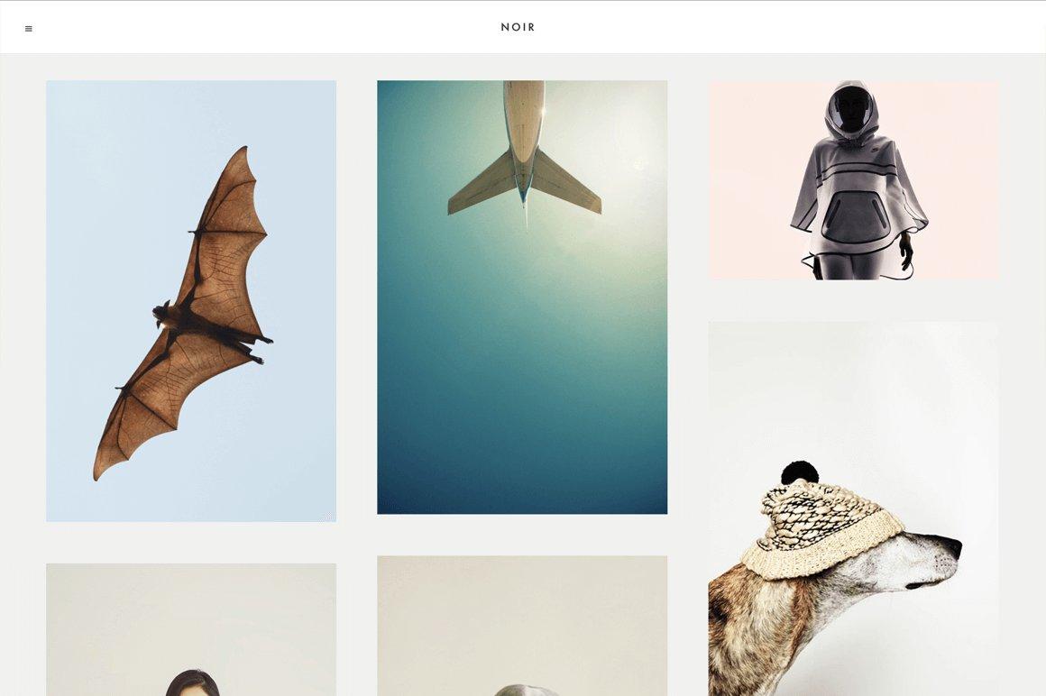 Noir ~ tumblr themes ~ creative market