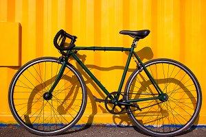 city bike fixed gear