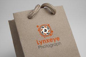 Lynxeye Photograph Logo Template