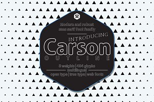 Carson Outline - 30% OFF