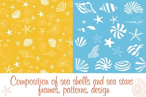 Composition and patterns of shells