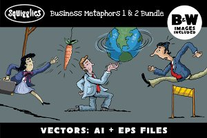 Business Metaphors-One & Two SET