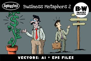Business Metaphors2 (10 Image Set)