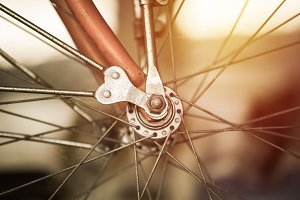 Part of bicycle