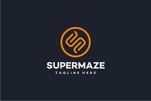 Supermaze - Letter S Logo