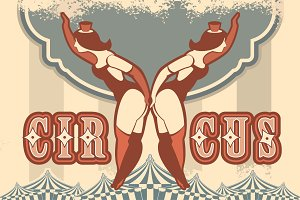 Circus retro posters
