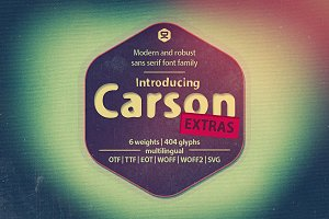 Carson Extras - 30% OFF