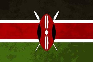 True proportions Kenya flag