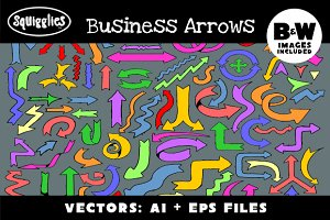 Business Arrows Set