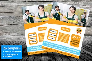 House Cleaning Services Flyer V-01