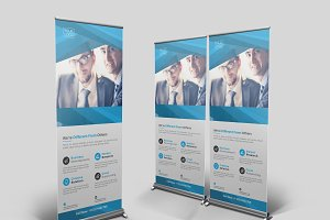 Agency Roll Up Banner Template