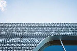 Metal Building and Window