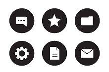 Digital icons. Vector