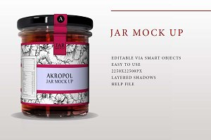 Jar Mock Up