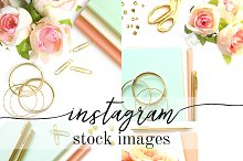 Instagram Stock Image Bundle