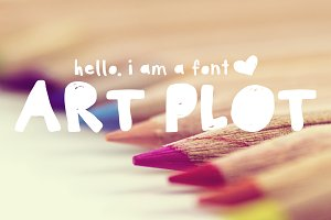 Art Plot - Hand Drawn Font