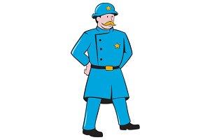 New York Policeman Vintage Standing