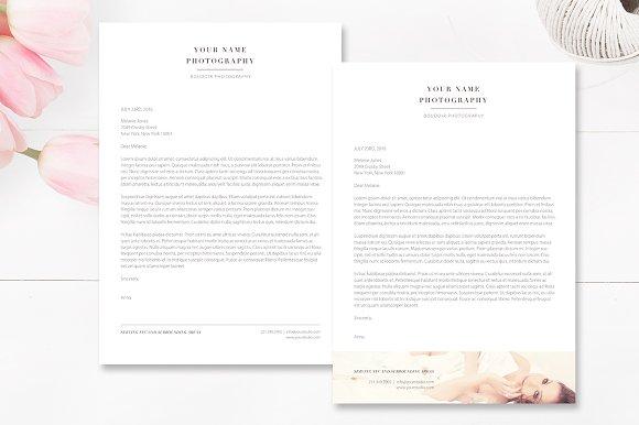 A4 photographer letterhead template stationery templates a4 photographer letterhead template stationery maxwellsz