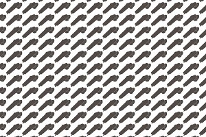 Seamless pattern background of grind