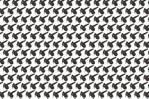 Seamless pattern background of air d