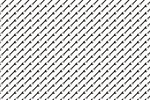 Seamless pattern background of wrenc