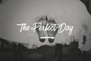 The Perfect Day - Wedding Presets