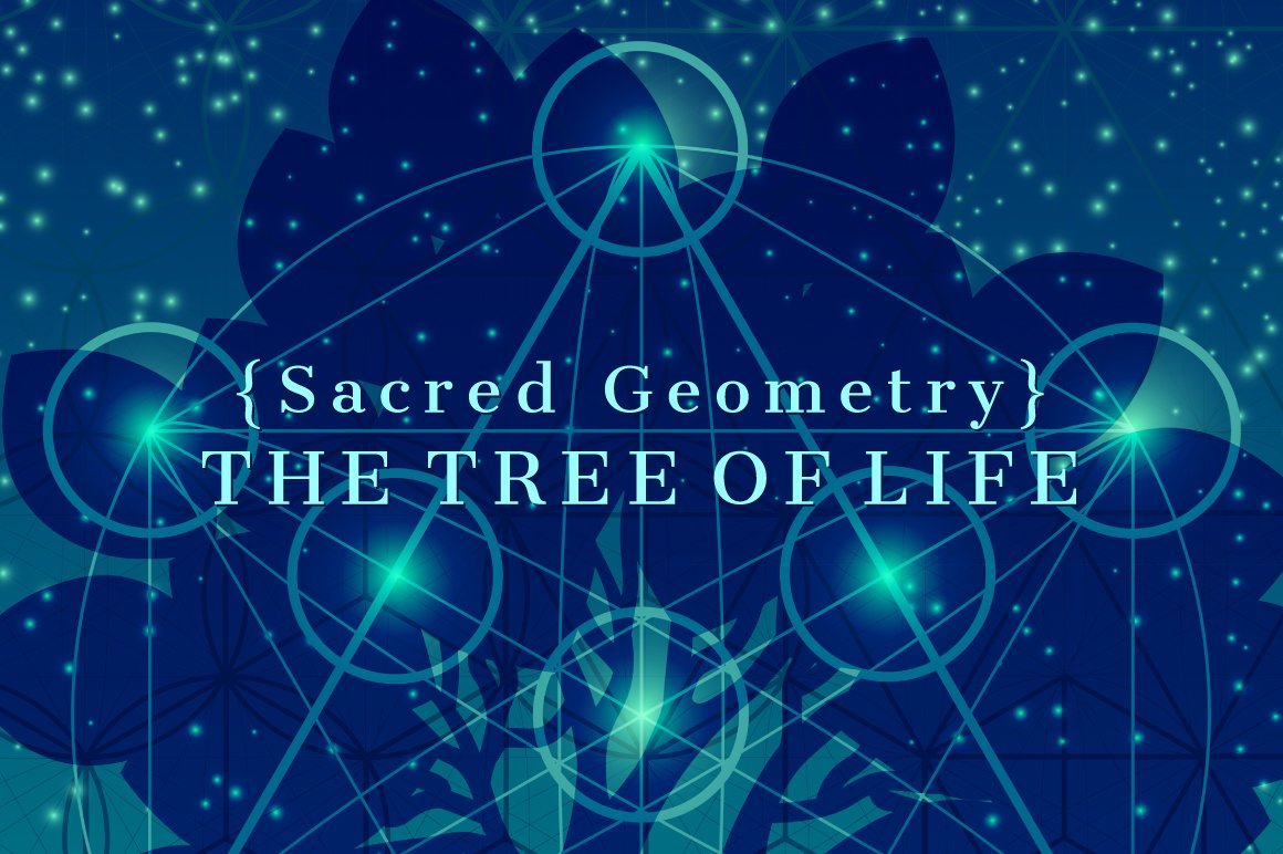 Sacred Geometry The Tree Of Life Illustrations