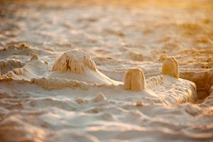 castle from the sand