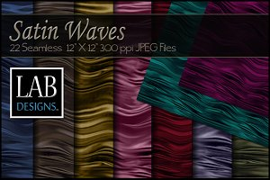 22 Satin Waves Fabric Textures