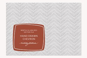 VECTOR & PSD Hand drawn Chevron
