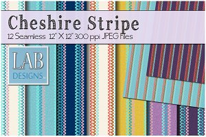 12 Cheshire Stripe Fabric Textures