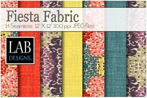 14 Fiesta Linen Fabric Textures