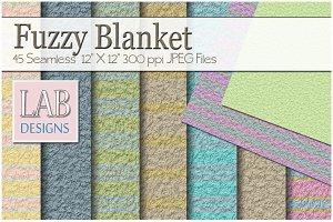 45 Fuzzy Blanket Fabric Textures